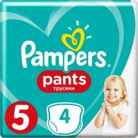 Pampers Pants Μέγεθος 5 (12-17 kg)  4 τμχ