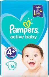Pampers Active Baby Μέγεθος 4+ (10-15kg) 16 Πάνες