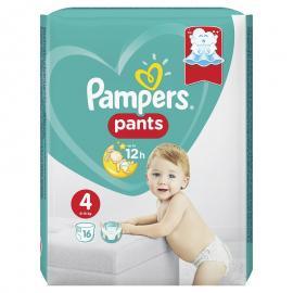Pampers Pants Μέγεθος 4 (9-15kg) 16 Πάνες - Βρακάκι