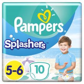Pampers Splashers No.5-6 (14kg+) 10 Πάνες