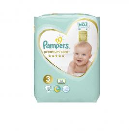 Pampers Premium Care No.3 (6-10kg) 20 Πάνες