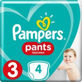 Pampers Pants Μέγεθος 3 (6-11 kg)  4τμχ