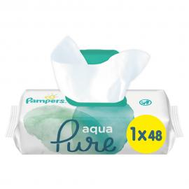 Pampers Aqua Pure Wipes  48τμχ