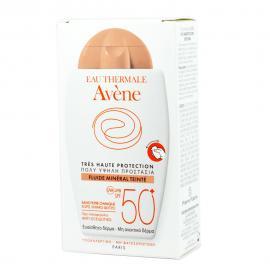 Avene Fluide Mineral Teinte SPF50+ 40ml