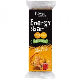 Power Health Power of Nature Energy Bar με Γεύση Μέλι, Μήλο και Κανέλα 70gr