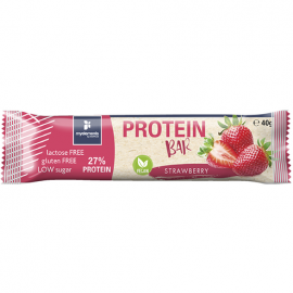 My Elements Vegan Protein Bar Strawberry Μπάρα Πρωτεΐνης Χωρίς Λακτόζη και Γλουτένη 40gr