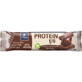 My Elements Vegan Protein Bar Double Chocolate Brownie Μπάρα Πρωτεΐνης Χωρίς Λακτόζη και Γλουτένη 40gr