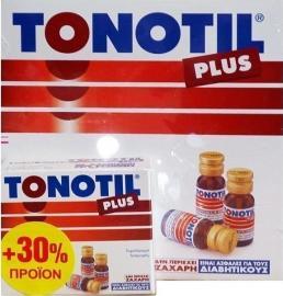 TONOTIL PLUS AMPOULES 10X10ML + 30% ΔΩΡΕΑΝ ΠΡΟΙΟΝ