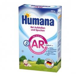 Humana AR Αντιαναγωγικό Γάλα 0m+ Χάρτινη Συσκευασία 400gr