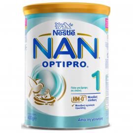 NESTLE NAN Optipro 1 με Μοναδική Σύνθεση Πρωτεΐνης HM-O  400G