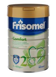Frisomel Comfort 2 Γάλα ειδικής διατροφής για βρέφη με γαστροοισοφαγική παλινδρόμηση ή δυσκοιλιότητα από τον έκτο μήνα 400gr