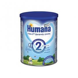 Humana Optimum 2 γάλα 2ης βρεφικής ηλικίας 6+, 350gr
