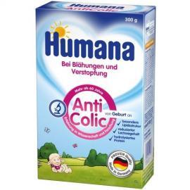 HUMANA AC Διαιτητική τροφή από τη γέννηση, ANTICOLIC για κολικούς και δυσκοιλιότητα  (300γρ), (1 τμχ)