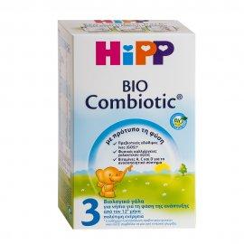HiPP No3 Bio Combiotic Βρεφικό Γάλα από τον 12ο μήνα 600gr