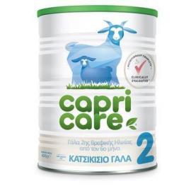Cube Capri care 2 Γάλα 2ης Βρεφικής Ηλικίας Απο Τον 6ο Μήνα Με Βάση Το Κατσικίσιο Γάλα 400gr