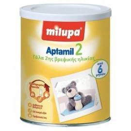 Milupa Aptamil 2, Γάλα δεύτερης βρεφικής ηλικίας σε σκόνη, για μωρά από 6 έως 10 μηνών, 800gr
