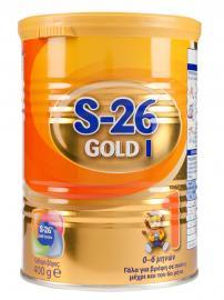 Wyeth S26 Ι Gold Βρεφικό Γάλα από τη Γέννηση μέχρι τον 6ο μήνα 400 gr