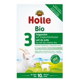Holle Βρεφικό Βιολογικό Κατσικίσιο Γάλα No3 Από 10 Μηνών  400gr, 1 τεμ.