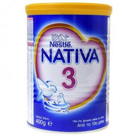 Nestle Nativa 3 Γάλα 2ης Βρεφικής Ηλικίας σε Σκόνη από τον 10ο Μήνα 400gr
