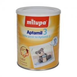 Milupa Aptamil 3, Γάλα σε σκόνη για μωρά 10+ μηνών, Χορηγείται ως συμπλήρωμα στο μητρικό γάλα ή ως αποκλειστική διατροφή με μπιμπερό, 800gr