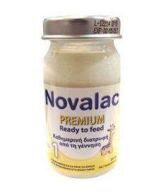 Vianex Novalac Premium 1 Ready to feed 90ml x 24 Τεμάχια + ΔΩΡΟ 24 Θηλές