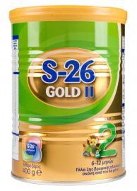 Wyeth S26 Gold 2 Βρεφικό Γάλα από  6-12 Mηνών 400gr