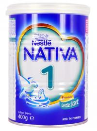 Nestle Nativa Γάλα 1ης βρεφικής ηλικίας 400g
