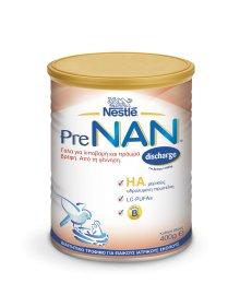 Nestle Pre Nan Discarge Βρεφικό Γάλα για Λιποβαρή & Προώρα Μωρά από τη Γέννηση 400gr