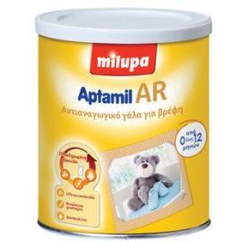 Milupa Aptamil AR, Αντιαναγωγικό γάλα, ενδείκνυται για την διαιτητική αντιμετώπιση των αναγωγών, 400 gr