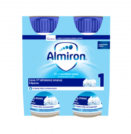 Nutricia Almiron 1 Γάλα 1ης Βρεφικής Ηλικίας από 0-6 μηνών 4x200ml