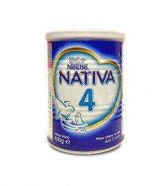 Nestle Nativa 4 Ρόφημα Γάλακτος σε Σκόνη από 2 Ετών 400gr