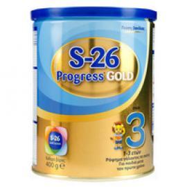 Wyeth S26 Progress Gold 3 Ρόφημα Γάλακτος από τον 12ο μήνα 400 gr