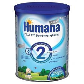 Humana Optimum 2 Βρεφικό Γάλα μετά τον 6ο Μήνα 350gr