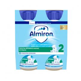 Nutricia Almiron 2 Γάλα 2ης Βρεφικής Ηλικίας από 6-12 μηνών 4x200ml