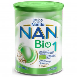 NESTLE Nan Bio 1 Γάλα 1 ης Βρεφικής Ηλικίας 400 gr