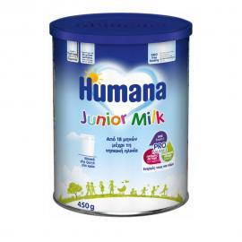 Humana Junior Milk από 18 Μηνών Μέχρι την Ηλικία των Νηπίων 450gr
