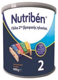 Nutriben 2 Γάλα 2ης βρεφικής ηλικίας 400gr