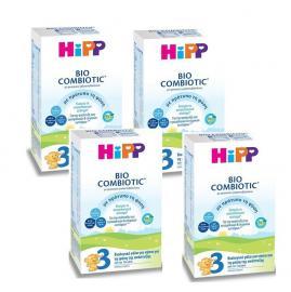 Hipp No 3,Γάλα σε Σκόνη Bio Combiotic, 12m+ 4x600gr