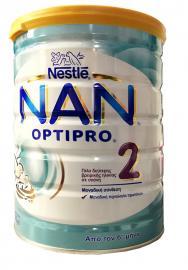 Nestle NAN 2 OptiPro Γάλα σε Σκόνη 2ης Βρεφικής Ηλικίας 800gr