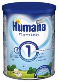 Humana Optimum 1 γάλα για βρέφη, απο τη γέννηση εως των 6ο μήνα, 350gr