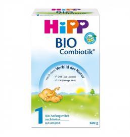 HIPP BIO COMBIOTIC No 1 βιολογικό γάλα 1ης ΒΡΕΦΙΚΗΣ ΗΛΙΚΙΑΣ CB-600gr