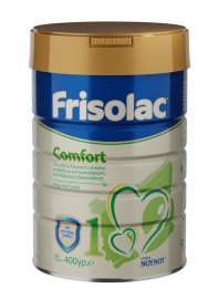 Frisolac 1 Comfort Ειδικό Γάλα για βρέφη από 0 έως 6 μηνών με γαστροοισοφαγική παλινδρόμηση ή δυσκοιλιότητα 400gr