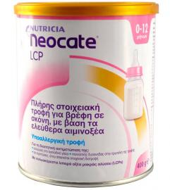 Nutricia Γάλα Neocate LCP 400gr 0-12 Μηνών