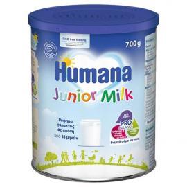Humana Junior Milk Γάλα σε Σκόνη 18m+ Μέχρι την νηπιακή ηλικία 700gr