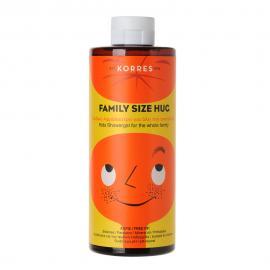 Korres Family Size Hug Παιδικό Αφρόλουτρο για όλη την Οικογένεια 400ml
