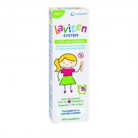 Laviten System Anti Lice Solution Αντιφθειρική Λοσιόν 125ml