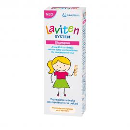 Laviten System Shampoo Αντιφθειρικό Σαμπουάν 125ml