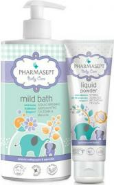 Pharmasept Baby Mild Bath 1Lit & Baby Liquid Powder 150ml