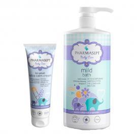 Pharmasept Tol Velvet Mild Bath 1000ml + Pharmasept Tol Velvet Extra Calm Cream 150ml