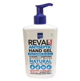 Intermed Reval Plus Natural Antiseptic Hand Gel - αντισηπτικά χεριών Kill Germs in 60 sec 500ml